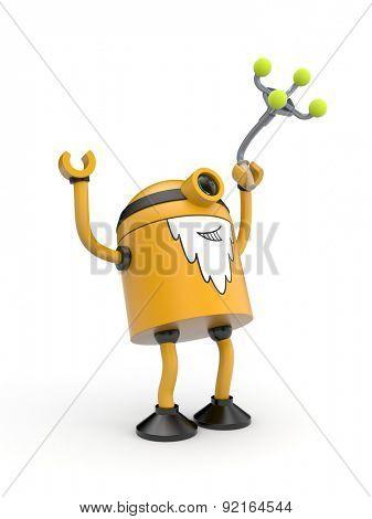 Old orange robot rejoice