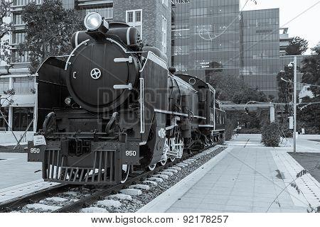Mikado Steam Locomotive