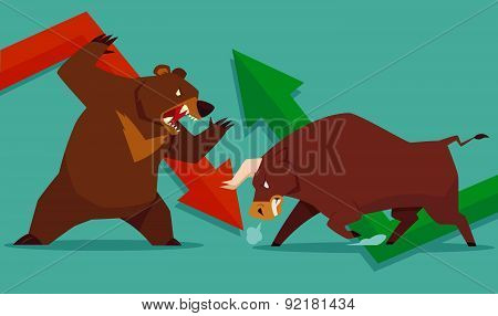 Stock Market Bull Vs Bear
