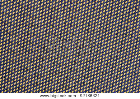 Blue Nonwoven Fabric On A Yellow
