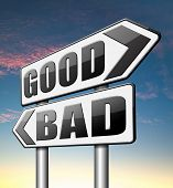 good bad a moral dilemma about values right or wrong evil or honest ethics   poster