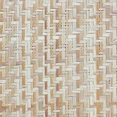 brown wicker texture background traditional handicraft weave poster