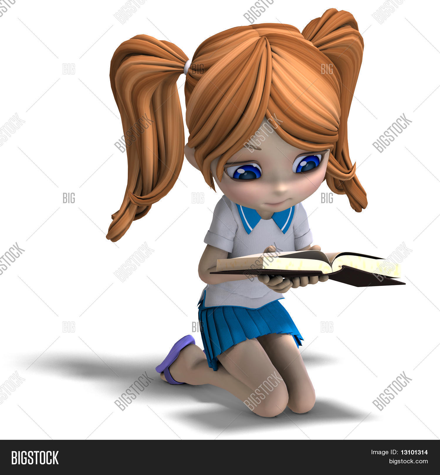 cute little cartoon image & photo (free trial) | bigstock