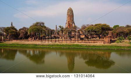 Old Temple Of Wat Phra Ram, Ayutthaya