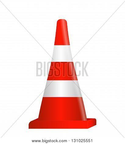 Road signs. Orange Badge guardrails. Vector Illustration EPS10