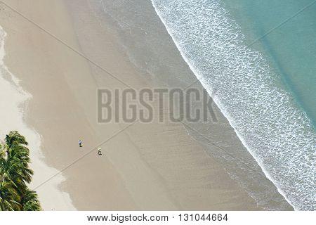Closeup Sea Waves