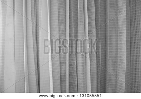 Lace curtain texture background decoration at home