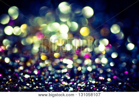 Abstract bokeh lights for background, Blurred Light