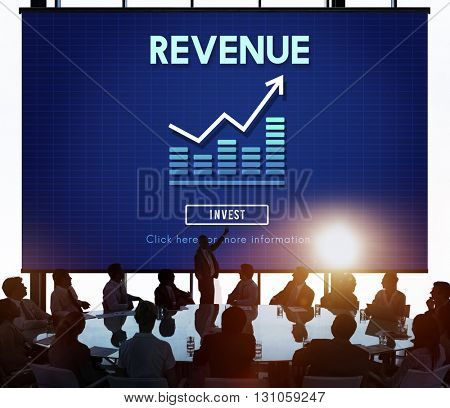 Revenue Economy Finance Accounting Concept