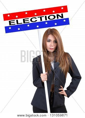 Woman And Election