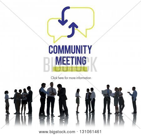 Business People Meeting Planning Discussion Concept