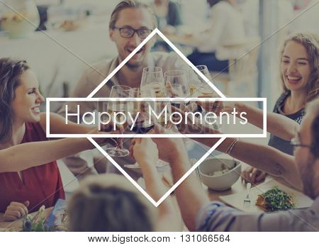 Happy Moments Feel Good Enjoy Fun Happiness Leisure Concept
