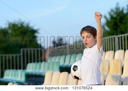 Little Boy - Football Team Fan -