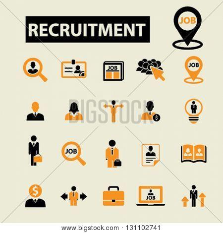 recruitment icons