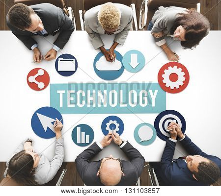Technology Www Network Graphics Concept