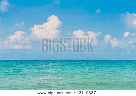 Beautiful Blue sea and sky