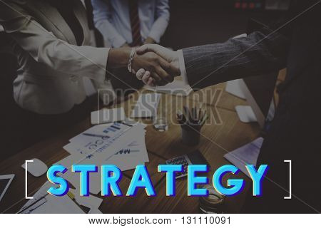 Strategy Effective Planning Management Graphic Concept