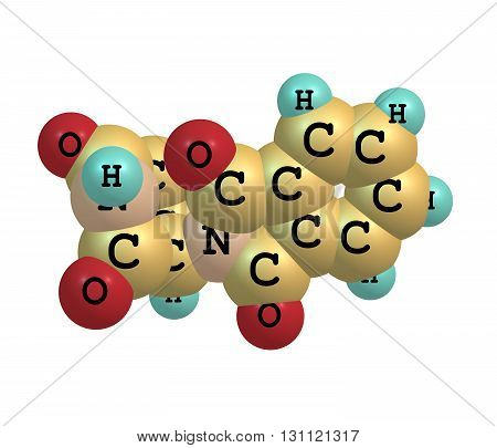 Currently marketed under the brand names Immunoprin Talidex Talizer Thalidomide is an immunomodulatory drug and the prototype of the thalidomide class of drugs 3d illustration