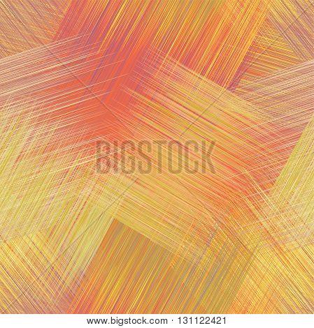 Seamless grunge striped guilt diagonal seamless pattern in yelloworangeviolet colors