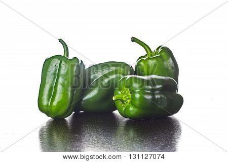 Fresh Vegetables Green Peppers