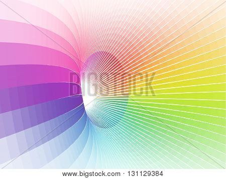 abstract vortex, vector opt art, gradient effect without gradient