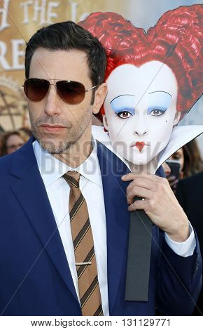 Sacha Baron Cohen at the Los Angeles premiere of 'Alice Through The Looking Glass' held at the El Capitan Theater in Hollywood, USA on May 23, 2016.