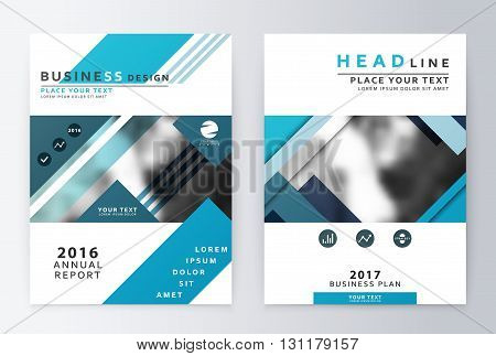 Annual report and brochure. Brochure template reports. The business plan template and a flyer . Business paper . Leaflets and cover A4 presentation layout.