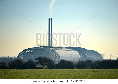 Incinerator in Newhaven UK providing power generation