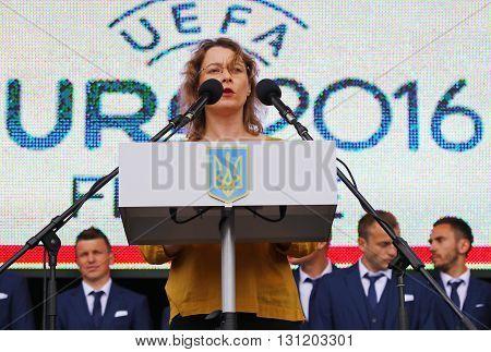 Ambassador Of France To Ukraine Isabelle Dumont