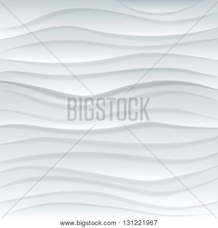 Abstract background with multilevel surfaces light stripes wave simulation material design