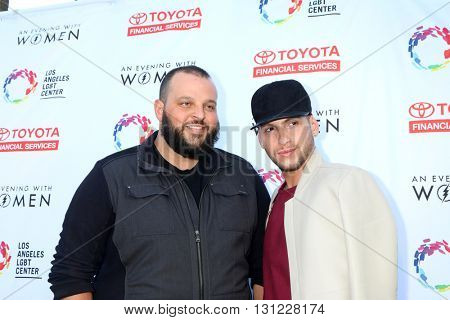 LOS ANGELES - MAY 21:  Daniel Franzese, Joseph Bradley Phillips at the An Evening With Women 2016 at Hollywood Palladium on May 21, 2016 in Los Angeles, CA