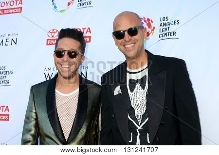 LOS ANGELES - MAY 21:  Brian Wolk and Claude Morais at the An Evening With Women 2016 at Hollywood Palladium on May 21, 2016 in Los Angeles, CA