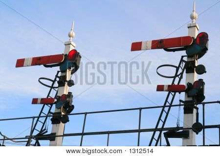 Vintage Railway Signals
