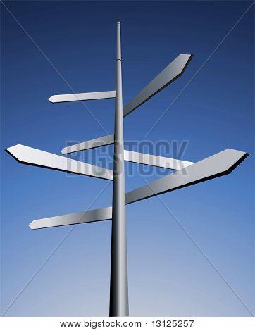 Pfeile. Idee für Business, Reise und andere Industrie.