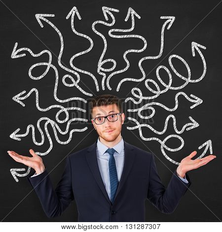 Instability on Blackboard Working Conceptual Business Concept