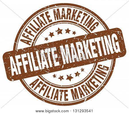affiliate marketing brown grunge round vintage rubber stamp.affiliate marketing stamp.affiliate marketing round stamp.affiliate marketing grunge stamp.affiliate marketing.affiliate marketing vintage stamp.