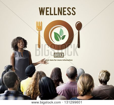 Wellness Wellbeing Health Healthi Lifestyle Concept