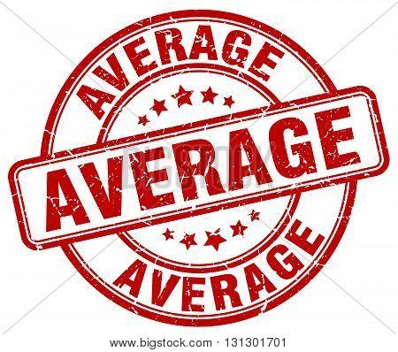 average red grunge round vintage rubber stamp.average stamp.average round stamp.average grunge stamp.average.average vintage stamp.