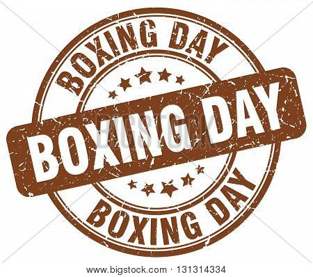 boxing day brown grunge round vintage rubber stamp.boxing day stamp.boxing day round stamp.boxing day grunge stamp.boxing day.boxing day vintage stamp.