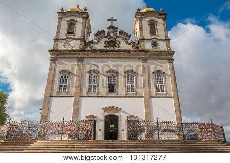 Church of Nosso Senhor do Bonfim, Salvador Brazil
