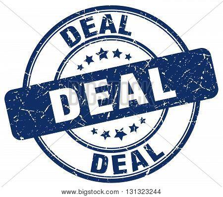 deal blue grunge round vintage rubber stamp.deal stamp.deal round stamp.deal grunge stamp.deal.deal vintage stamp.
