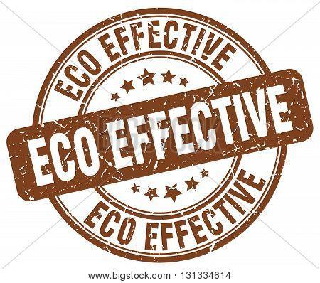 eco effective brown grunge round vintage rubber stamp.eco effective stamp.eco effective round stamp.eco effective grunge stamp.eco effective.eco effective vintage stamp.