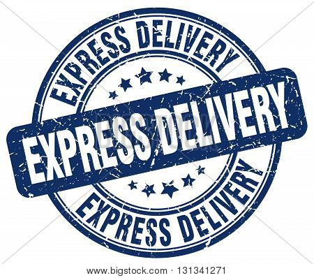 express delivery blue grunge round vintage rubber stamp.express delivery stamp.express delivery round stamp.express delivery grunge stamp.express delivery.express delivery vintage stamp.