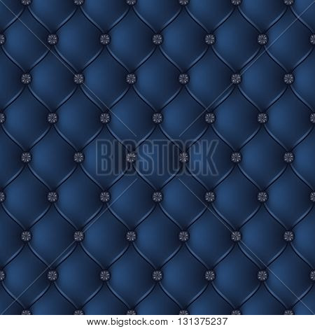 Vector abstract upholstery dark blue background. Can be used in cover design book design website background CD cover advertising.