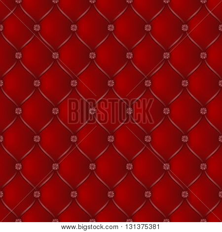 Vector abstract upholstery dark red background. Can be used in cover design book design website background CD cover advertising.
