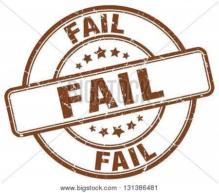 fail brown grunge round vintage rubber stamp.fail stamp.fail round stamp.fail grunge stamp.fail.fail vintage stamp.