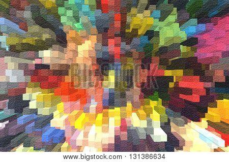 art grunge blocks colorful abstract illustration background