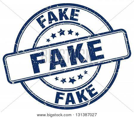 fake blue grunge round vintage rubber stamp.fake stamp.fake round stamp.fake grunge stamp.fake.fake vintage stamp.