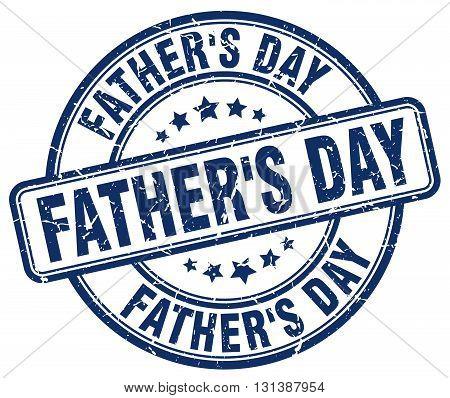 father's day blue grunge round vintage rubber stamp.father's day stamp.father's day round stamp.father's day grunge stamp.father's day.father's day vintage stamp.