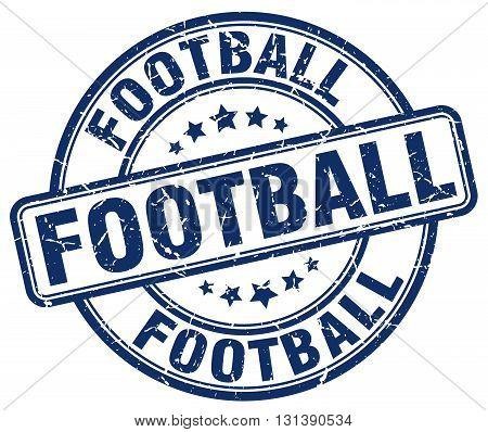 football blue grunge round vintage rubber stamp.football stamp.football round stamp.football grunge stamp.football.football vintage stamp.